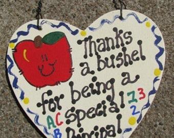 Teacher Gift 6006 Thanks a Bushel Principal