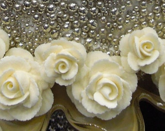 Royal Icing Roses, Butter