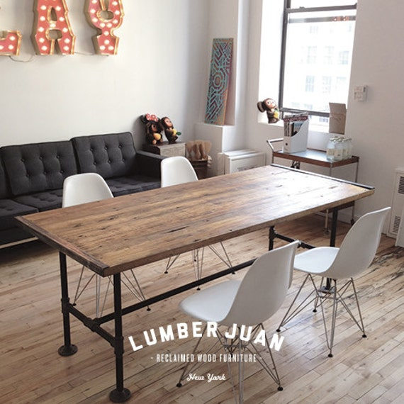 - Items Similar To Reclaimed Wood Conference Table On Etsy