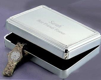 Contemporary Beaded Jewelry Box