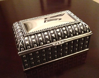 Marseille Rectangular Jewelry Box (med size)- Personalize this gift for your Best Friend