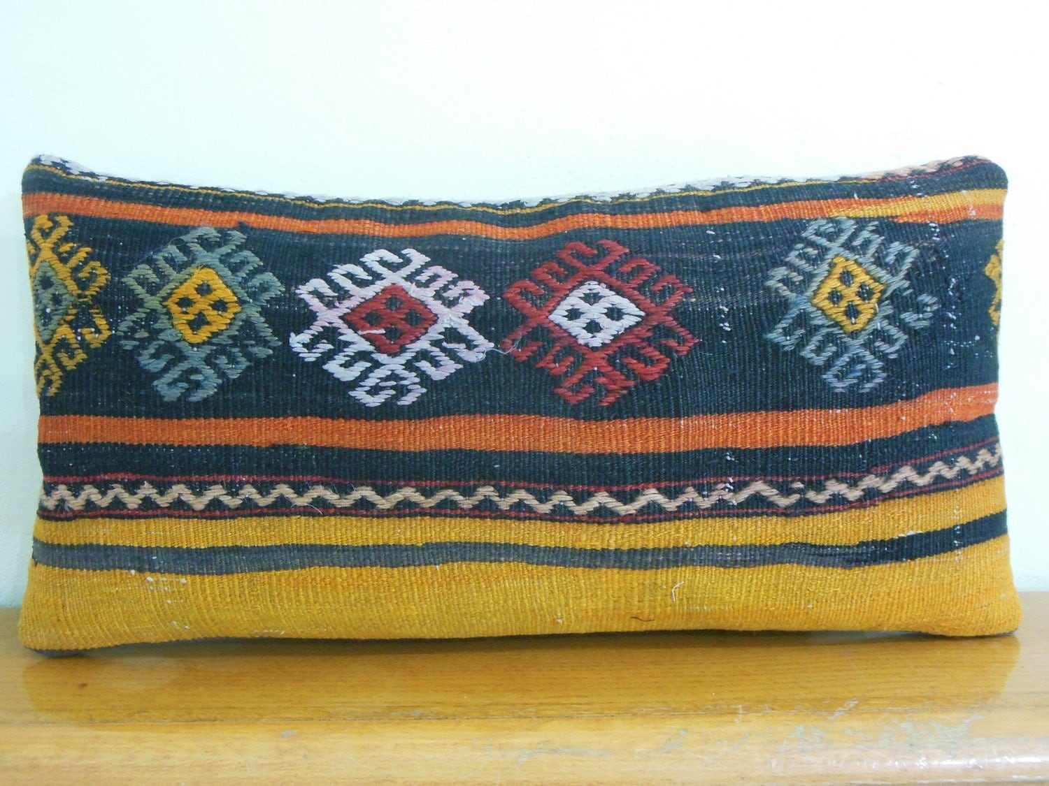 Turkish Kilim Throw Pillows : Turkish cushion decorative throw pillow kilim pillows