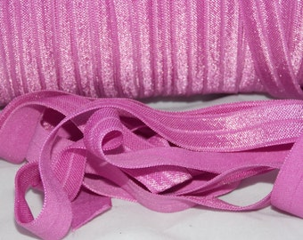 10 Solid Color Hair Ties Emi Jay Inspired Fold Over Elastic No
