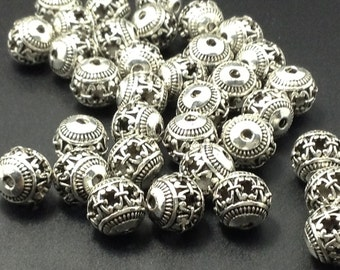 20 pcs x 10mm Tibetan beads for making jewelry  make your own jewelry(C627)
