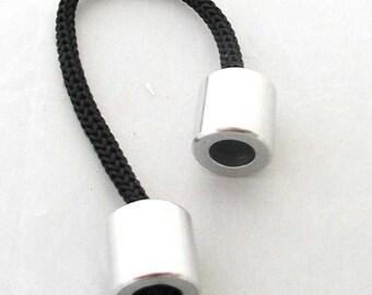 Greek Begleri traditional mini Komboloi worry beads (with 2 metallic beads)