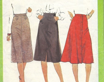 1970s  Misses Skirt Pattern,  Simplicity 8241, Size 12