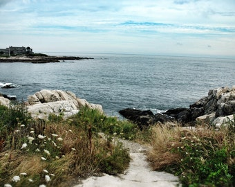 Walker's Point, Kennebunkport, Maine, coastal landscape, print ready to frame