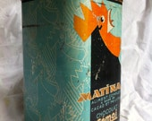 Rare French VIntage art deco tin Martina Chocolat from Cemois 1920's