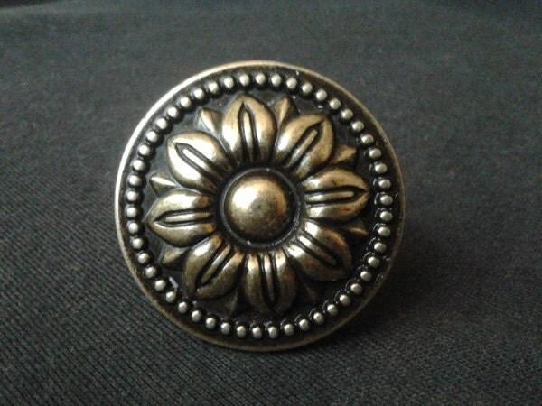 Dresser Knob Drawer Knobs Pulls Handles Sun Flower Cabinet