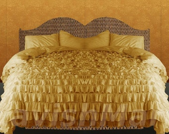 Popular items for Yellow bedding on Etsy - Yellow Bed Sets