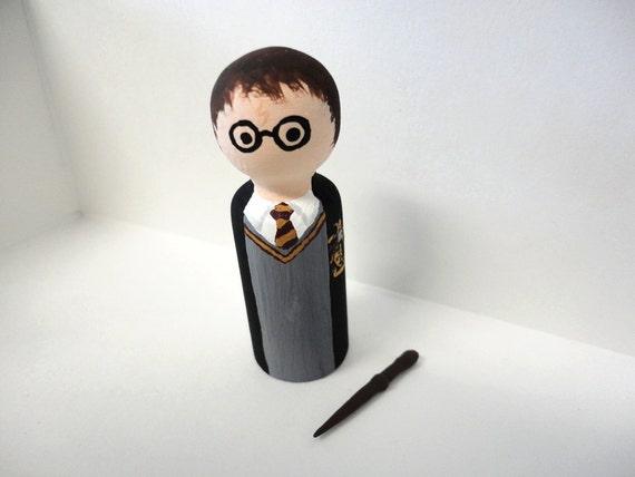 Harry Potter Wooden Peg Doll