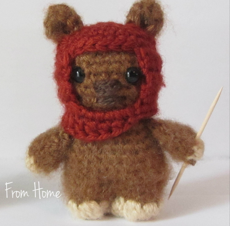 Ewok Crochet Amigurumi : Crochet Ewok Amigurumi Character Sci-Fi Doll by ...