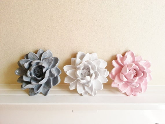 Lotus flower wall sculpture wedding table decor