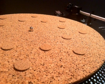 Cork Turntable Mat Audiophile Spot-mat