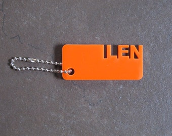 Personalized Keychains (Acrylic) Regular Color