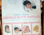 Vintage 1950 Northern's Famous American Beauty Portraits Northern Tissue RESERVED FOR VEROKITSCHY