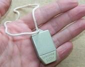 Vintage Soviet Dosimeter. Radiation Meter. Metal Keychain Pendant. ID11