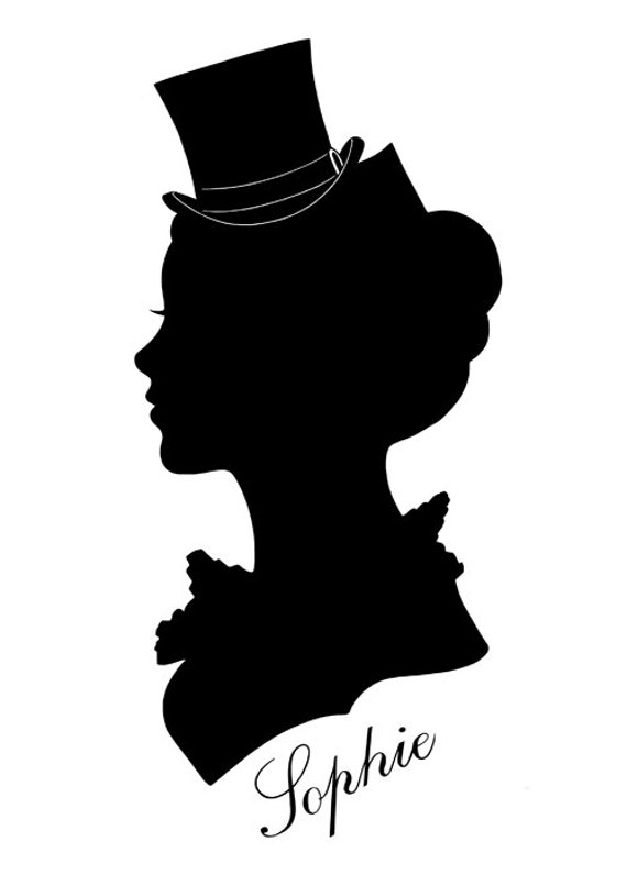 The gallery for --> Vintage Female Silhouette Profile