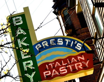 Little Italy in Cleveland - Prestis Italian Bakery - 8x10