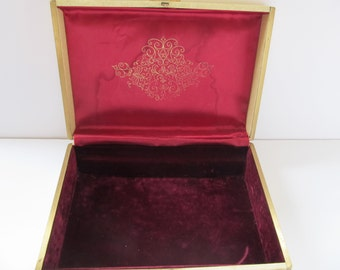 Farrington Jewelry Box, Jewelry Box, Farrington, Vintage Jewelry Box, Jewelry, Vintage Jewelry