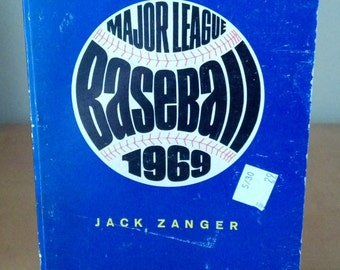 ON SALE 1st Edition Major League Baseball 1969 by Jack Zanger