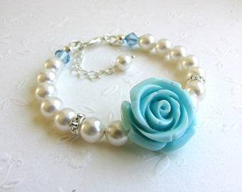 Popular Items For Tiffany Blue Rose On Etsy