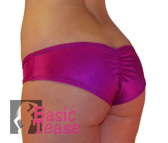 Mini Stripper Gather Butt Shorts for Exotic Dancers and Pole Fitness Class