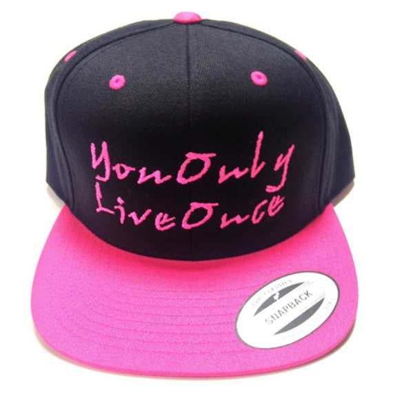 Add it to your favorites to revisit it later Yolo Snapbacks