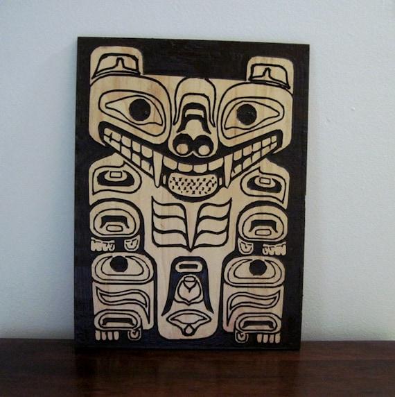 Haida Tribal Native American Art Pacific Northwest Tribal