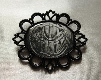 "PIN collection ""Black"": hourglass 2"