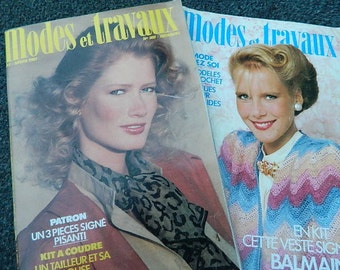 """1983 """"Two Fashion magazines and Works"""""""