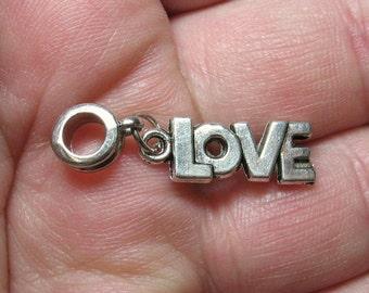 LOVE European Style Bead Charm - Item 50258