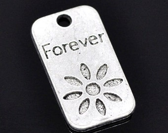 "Four ""Forever"" Charms, 23 mm - Item 51047"