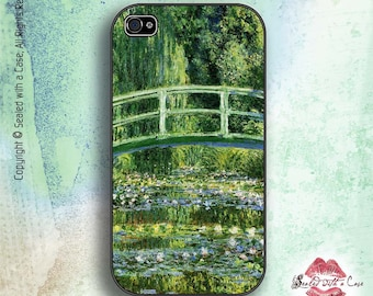 Monet Water Lilies and Japanese Bridge - iPhone 4/4S 5/5S/5C/6/6+ and now iPhone 7 cases!! And Samsung Galaxy S3/S4/S5/S6/S7