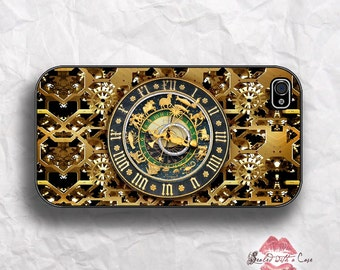 Steampunk Zodiac Clock - iPhone 4/4S 5/5S/5C/6/6+ and now iPhone 7 cases!! And Samsung Galaxy S3/S4/S5/S6/S7