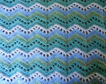 The Perfect Retro Baby Blanket - Water Ripple