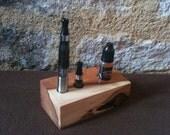 Handmade English Yew E-cigarette (E-cig) Stand