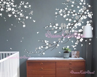 Cherry Blossoms Wall Decal Wall Sticker Tree DecalsDK - Somewhat about wall stickers