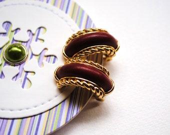 REDUCED Vintage french Orena Paris earrings