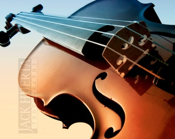 Violin Photo - 8x10 Photograph - Violin F Hole Stringed Instrument Fiddle Fiddler Violinist Musician Free Shipping