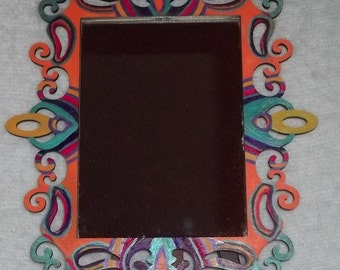 Hand Painted Wall or Table top Mirror for Home Decor