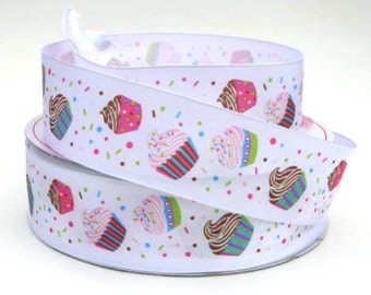 "1 1/2"" Cupcake Wire Edged Ribbon"