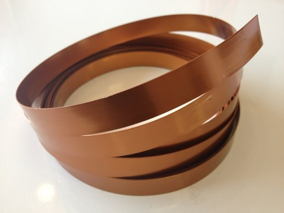 wide flat copper wire 12 in wide x 5 yd copper wire floral wire aluminum wire diy floral flat wire wide copper wire