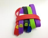 A (u me) USB flash drive rubber bracelet - 4GB