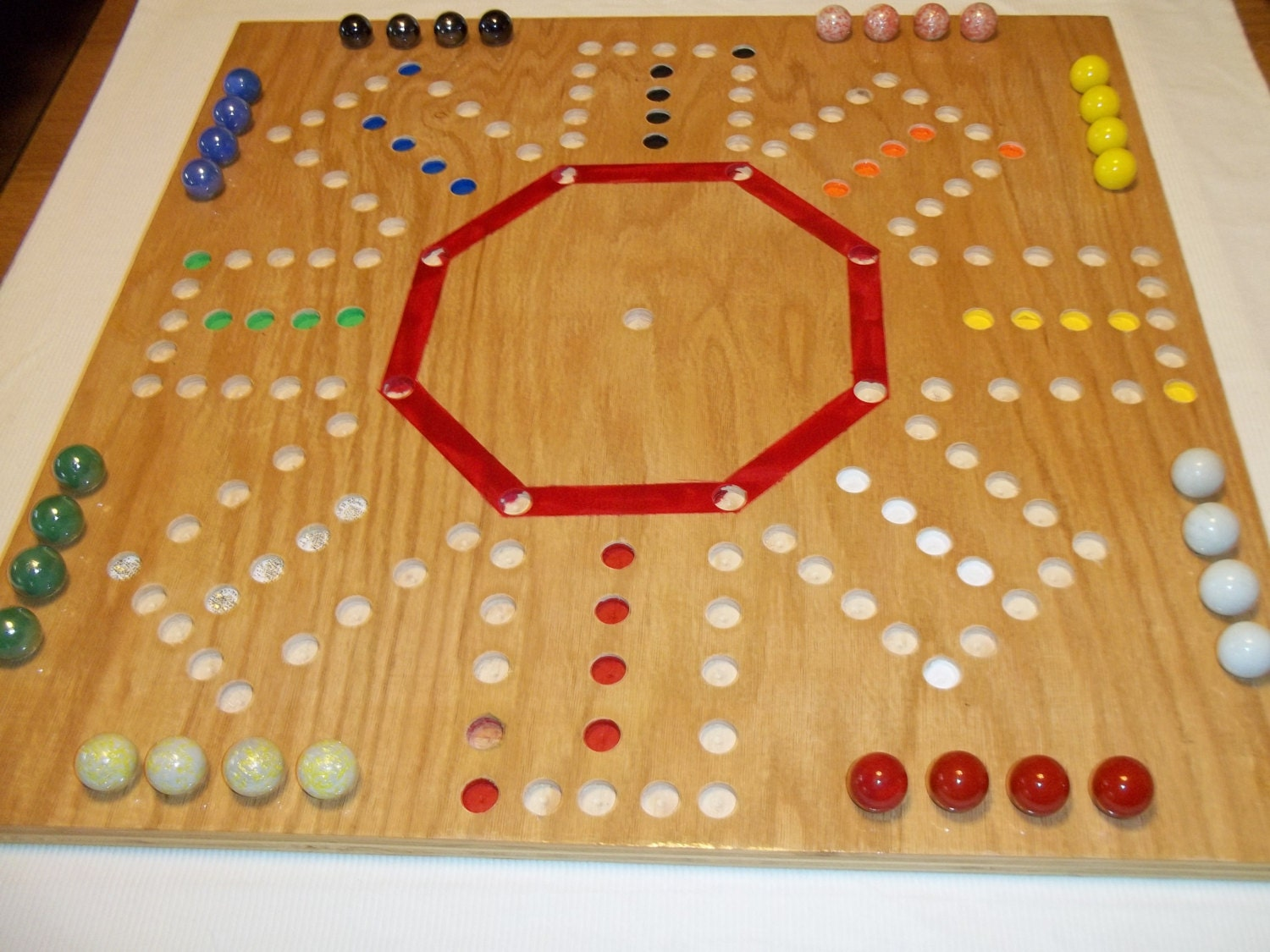This is a picture of Breathtaking Printable Template for Aggravation Game