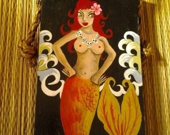 Mermaid with goldfish tail