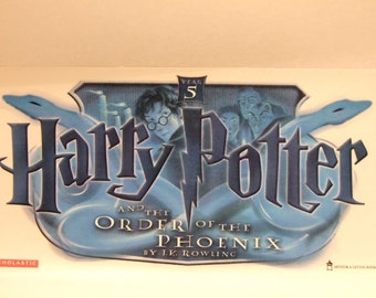 Harry Potter Decal Sticker Order of the Phoenix NEW 2003 Scholastic