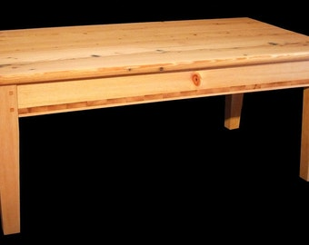 Ristic reclaimed barn wood coffee table
