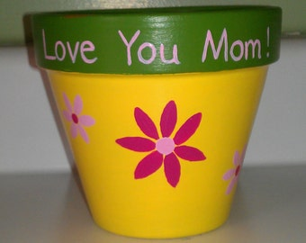 Flower Pot, personalized