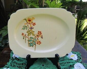 Homer Laughlin Plate Platter - Century Columbine Century Riviera
